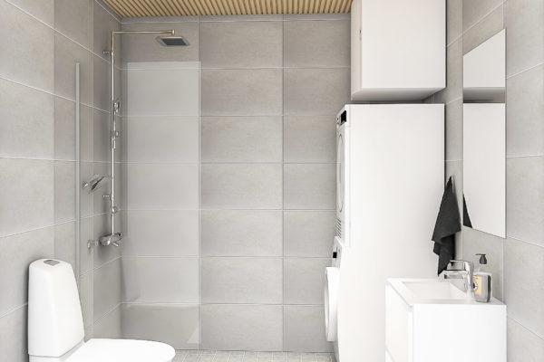 Pesuhuone kaksio