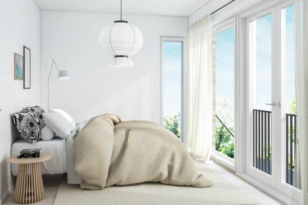 Asunto 1 ja 5 makuuhuone