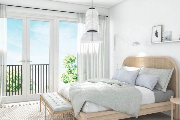 Asunto 2-4 makuuhuone